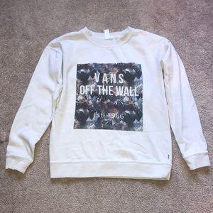 vans crewneck sweatshirt
